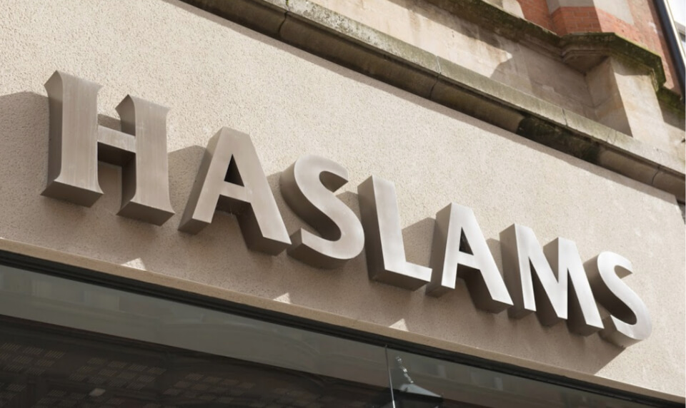 Haslams shop front