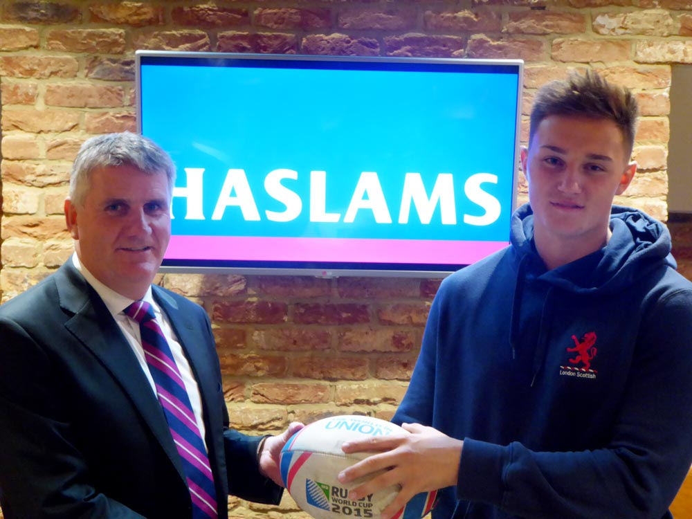 Haslams – Proudly Supporting Local Rugby Talent Thumbnail